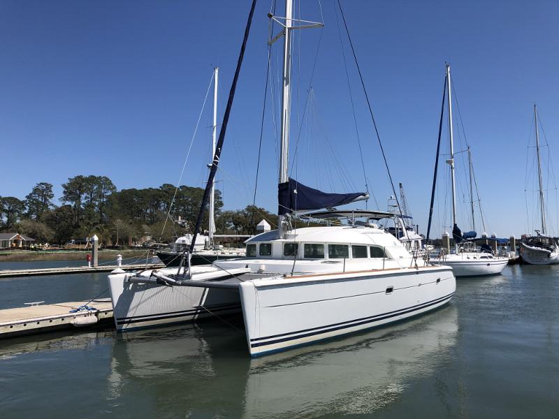 Catamaran for Sale Lagoon 380  in Savannah Georgia (GA)  SOUTHERN BREEZE  Preowned Sail