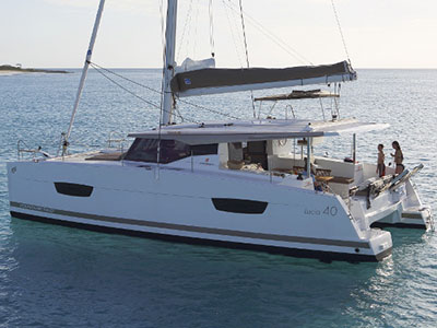 Sail Catamarans for Sale  LUCIA 40