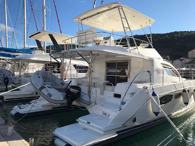 Used Power Catamarans for Sale  Leopard 39 PC