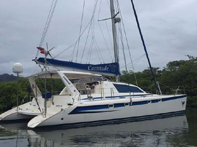 Catamaran for Sale Leopard 47  in Grenada CATTITUDE  Preowned Sail