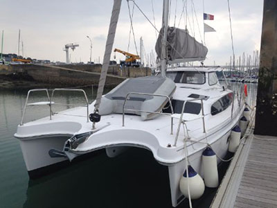 Catamaran for Sale Legacy 35  in La Trinité sur Mer France MIAMI Thumbnail for Listing Preowned Sail