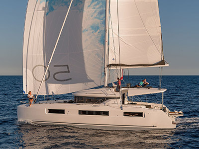 New Sail Catamaran for Sale 2020 Lagoon 50