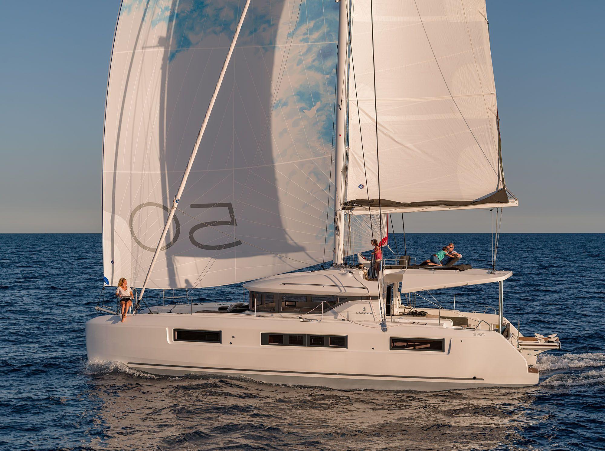 New Sail Catamaran for Sale 2020 Lagoon 50