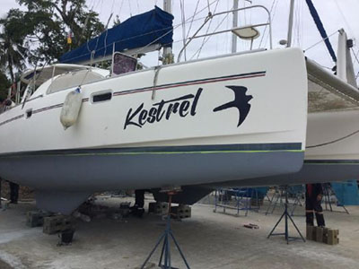 Catamarans KESTREL KAT, Manufacturer: ROBERTSON & CAINE, Model Year: 2009, Length: 39ft, Model: Leopard 40, Condition: Preowned, Listing Status: Catamaran for Sale, Price: USD 259000