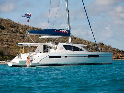 Preowned Sail Catamarans for Sale 2013 Leopard 48