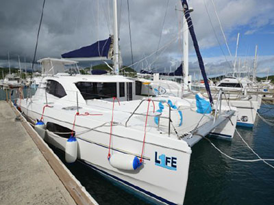 Catamarans ONE LIFE, Manufacturer: ROBERTSON & CAINE, Model Year: 2016, Length: 42ft, Model: Leopard 44, Condition: Preowned, Listing Status: NOT ACTIVE, Price: USD 589000