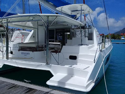 Used Sail Catamaran for Sale 2014 Leopard 44