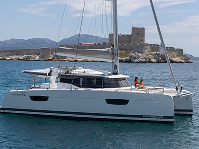 Catamarans FP ASTREA 42 TBA , Manufacturer: FOUNTAINE PAJOT , Model Year: 2020, Length: 41ft, Model: Astrea 42, Condition: New, Listing Status: Catamaran for Sale, Price: USD