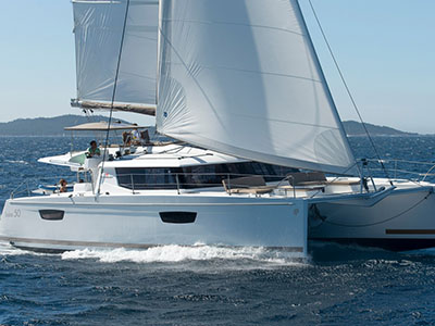 New Sail Catamaran for Sale  Saba 50