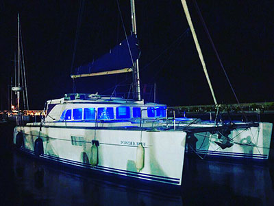 Catamaran for Sale Lagoon 440  in Fort Lauderdale Florida (FL)  POWDER BLUE Thumbnail for Listing Preowned Sail