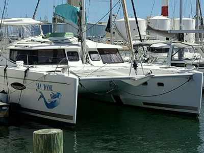 Preowned Sail Catamarans for Sale 2013 Helia 44