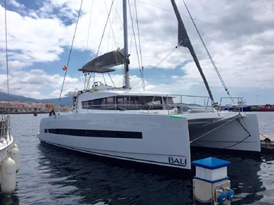 Catamarans GIOIA, Manufacturer: BALI CATAMARANS, Model Year: 2016, Length: 40ft, Model: Bali 4.0, Condition: Preowned, Listing Status: Under Contract, Price: EURO 345000