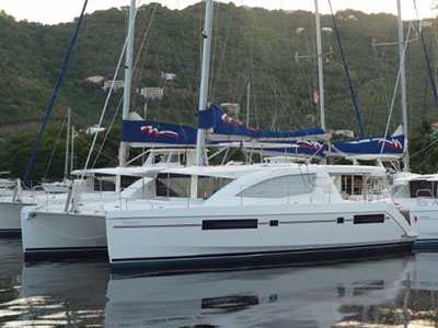 Catamarans DOMINO II, Manufacturer: ROBERTSON & CAINE, Model Year: 2013, Length: 48ft, Model: Leopard 48, Condition: Preowned, Listing Status: Catamaran for Sale, Price: USD 499000