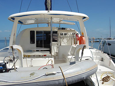 Catamaran for Sale Leopard 40  in Cienfuegos Cuba VIRGIN BUOY Thumbnail for Listing Preowned Sail