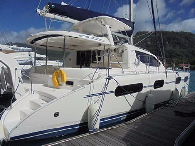 Catamaran for Sale Leopard 46   in Seychelles TONINA Thumbnail for Listing Preowned Sail