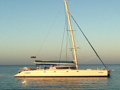 Catamaran for Sale Belize 43  in Casa de Campo Dominican Republic 4 VENTS  Preowned Sail