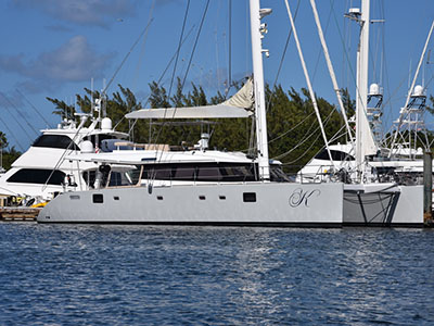 Catamarans MISS KIRSTY, Manufacturer: SUNREEF YACHTS, Model Year: 2008, Length: 62ft, Model: Sunreef 62, Condition: Preowned, Listing Status: Catamaran for Sale, Price: USD 1150000