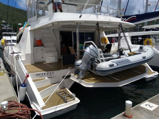 Used Sail Catamarans for Sale 2013 Leopard 58
