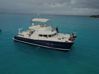 Catamarans BLUEMOON, Manufacturer: LAGOON, Model Year: 2003, Length: 43ft, Model: Lagoon 43 Power , Condition: Used, Listing Status: Under Contract, Price: USD 295000