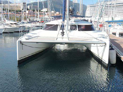 Catamaran for Sale Lavezzi 40  in Croatia KERYLOS 2  Preowned Sail