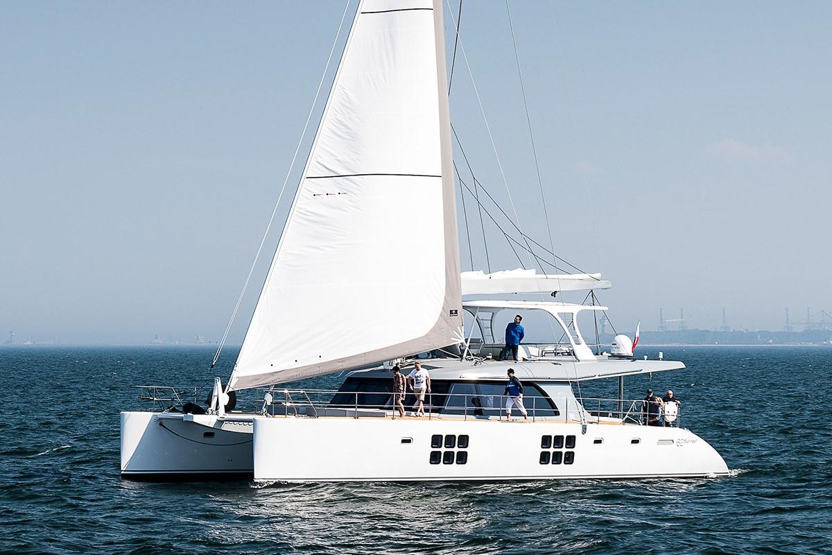 Catamaran for Sale Custom 62  in Poland ADEA  Launched Sail