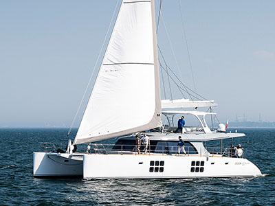 Launched Sail Catamaran for Sale 2017 Custom 62