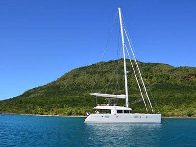 Catamaran for Sale Lagoon 560  in Le Marin Martinique ZYLKENE Thumbnail for Listing Preowned Sail