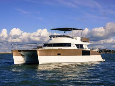 Preowned Power Catamarans for Sale 2014 Cumberland 47 LC