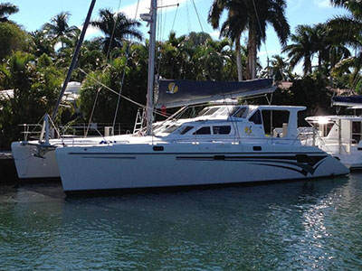 Under Contract St. Francis 50  in Newport Rhode Island (RI)  VADO PAZZO III  Preowned Sail