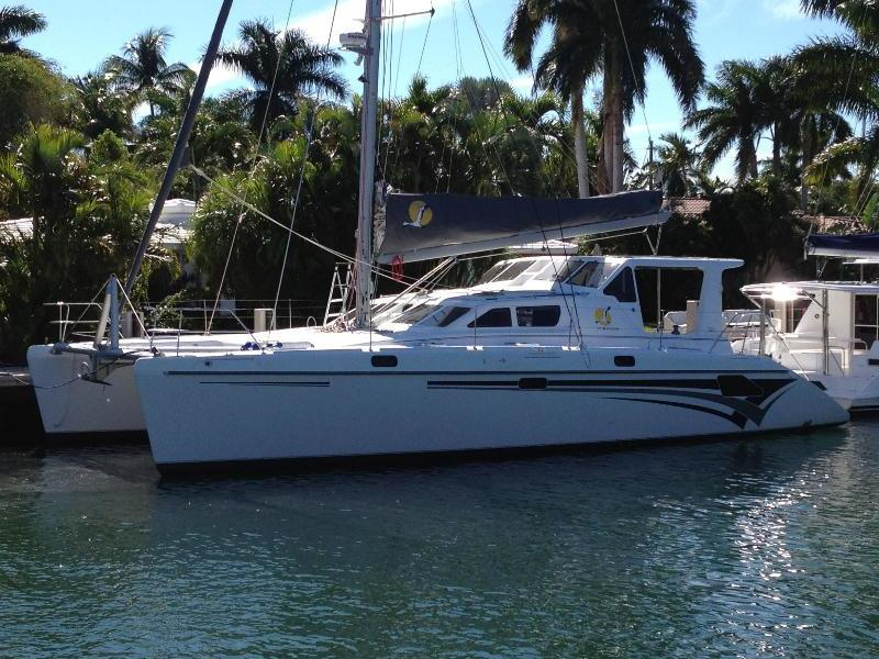 Used Sail Catamaran for Sale 2011 St. Francis 50
