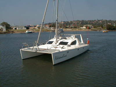Used Sail Catamaran for Sale 2001 Voyage 38