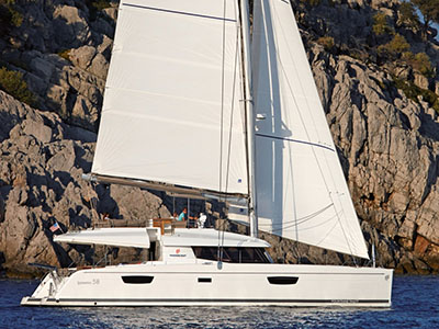 New Sail Catamaran for Sale  IPANEMA 58