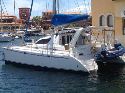 Used Power Catamarans for Sale 1999 Leopard 38