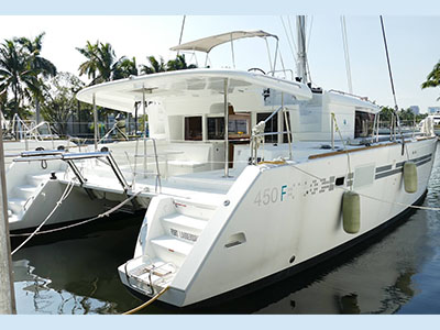 Sail Catamarans for Sale 2017 Lagoon 450 F