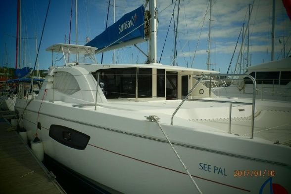 Catamaran for Sale Leopard 44  in Rodney Bay Saint Lucia SEE PAL  Preowned Sail