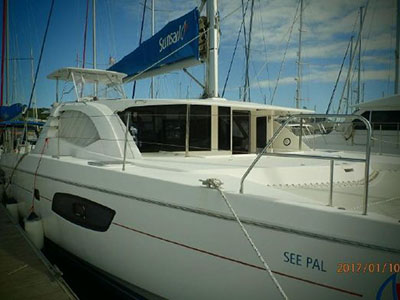Preowned Sail Catamarans for Sale 2012 Leopard 44