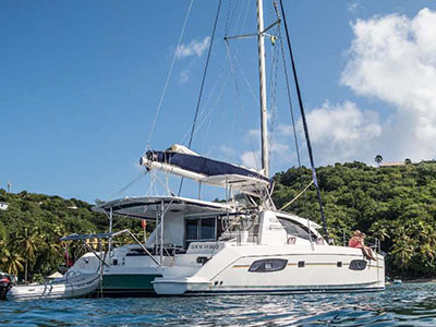 Catamarans LOCAL HERO II, Manufacturer: ROBERTSON & CAINE, Model Year: 2014, Length: 42ft, Model: Leopard 44, Condition: Preowned, Listing Status: Catamaran for Sale, Price: USD 449000