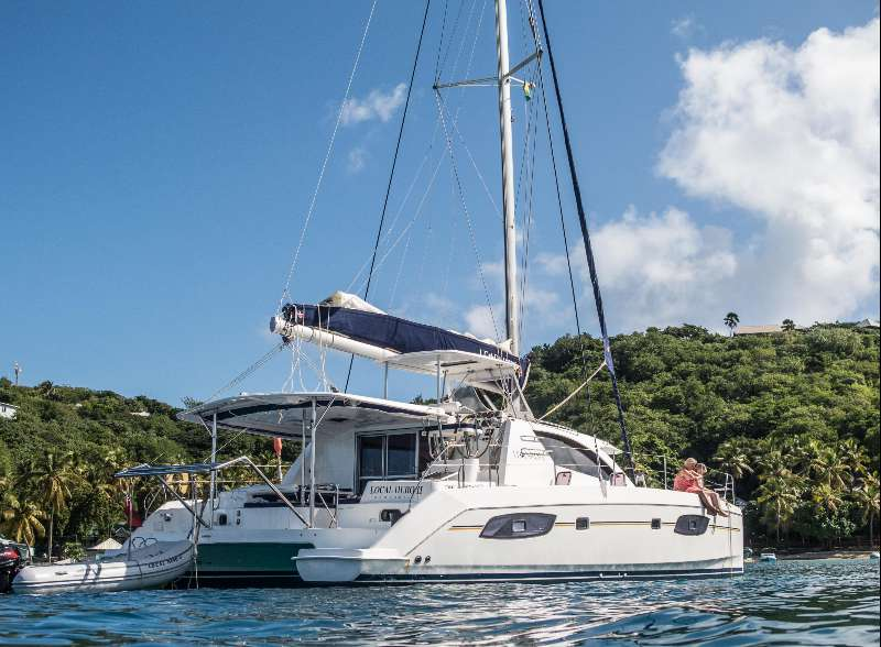 Preowned Sail Catamarans for Sale 2014 Leopard 44