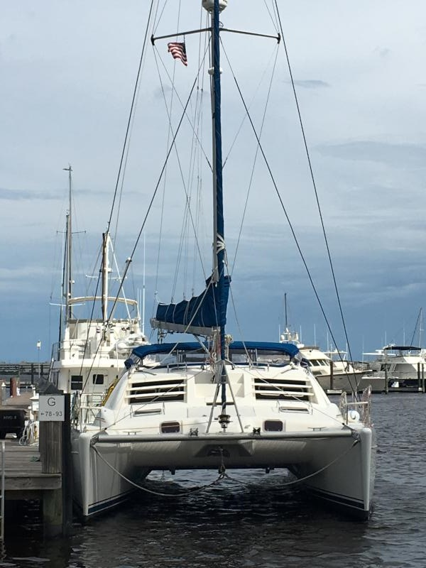SOLD Leopard 38  in Stuart Florida (FL)  CLOUD 9  Preowned Sail