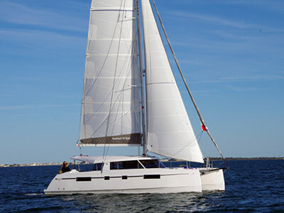 Catamaran for Sale Nautitech 46 Open  in Rochefort France BROCHURE-NAUTITECH 46 OPEN  Brochure Sail