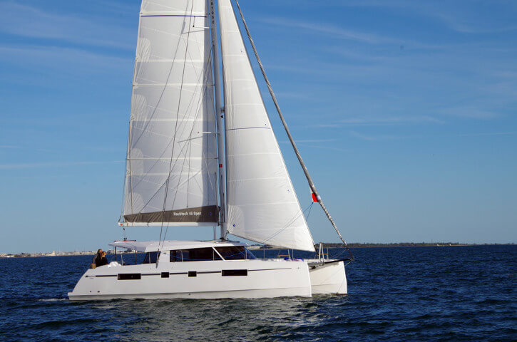 New Sail Catamarans for Sale  Nautitech 46 Open
