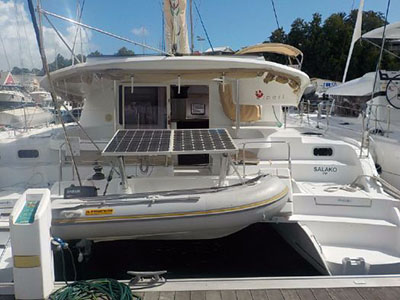Catamaran for Sale Lipari 41  in Pointe a Pitre Guadeloupe SALAKO  Preowned Sail