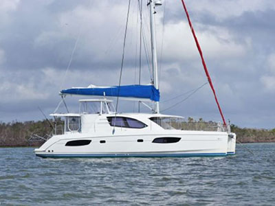 Acceptance of Vessel Leopard 44  in Fort Lauderdale Florida (FL)  ASHLEY DAWN  Preowned Sail