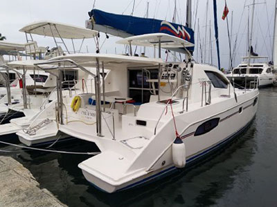 Used Sail Catamarans for Sale  Leopard 39