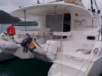 Catamaran for Sale Lipari 41  in Seychelles Africa HEGOA  Preowned Sail