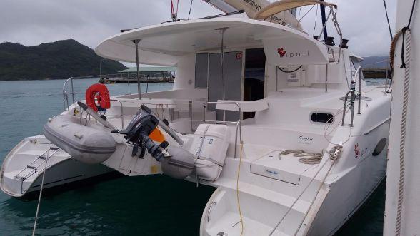 Preowned Sail Catamarans for Sale 2011 Lipari 41