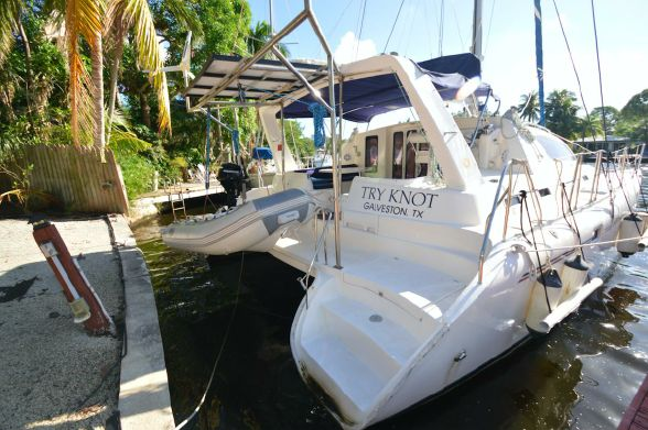 Catamaran for Sale Leopard 38  in Fort Lauderdale Florida (FL)  TRY KNOT  Preowned Sail