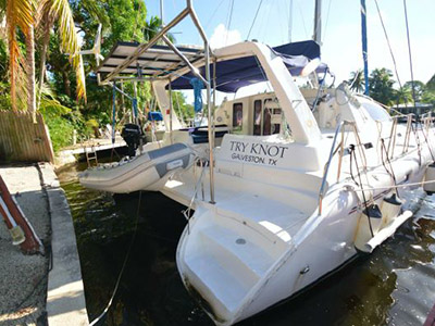 Preowned Sail Catamarans for Sale 2003 Leopard 38