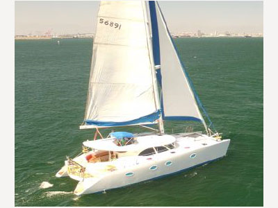 Catamaran for Sale Prout 50S  in San Pedro California (CA)  COURTSHIP II Thumbnail for Listing Preowned Sail