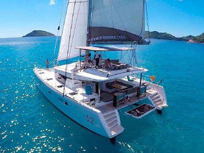 Used Sail Catamaran for Sale 2014 Lagoon 52
